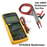 DT-9205A LCD Digital Multimeter Ammeter Resistance Capacitance Tester Pen AC/DC