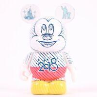 """Walt Disney World Eachez Mickey Mouse Variant Disney Vinylmation 3"""" Figure"""