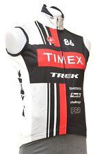 Castelli Timex Trek Thermal Cycling Wind Vest Men SMALL Black Road Bike MTB Tri