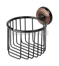 Bathroom Oil Rubbed Bronze Toilet Paper Holder Paper Roll Basket lba118