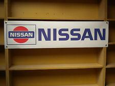 Nissan Retro classic Banner sign workshop, Silvia, Bluebird, Cherry