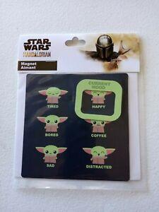 Disney Parks Star Wars Mandalorian The Child Baby Yoda Current Mood Magnet