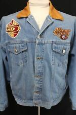 Vintage SAN FRANCISCO 49ers Embroidered NFL 50th YEAR 1996 PRO ELITE JACKET XXL