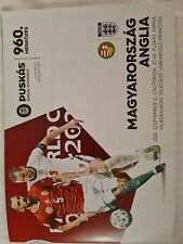 More details for hungary v england 2/9/21 world cup qualifier official programme  *no away fans*