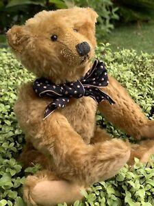 """10"""" Mohair Artist Teddy Bear """"Theo"""" by Terry John Woods - A Rare Small Bear OOAK"""