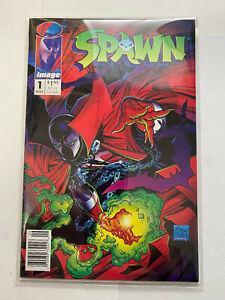 Spawn #1 Newsstand Todd McFarlane Image Key No Reserve!