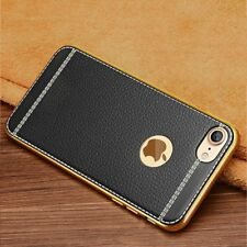 For Apple iPhone 10 X 8 Xr Xs Max 7 Plus 6s Genuine Thin Leather Case Cover Skin