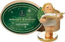 Vorleser,  lim. Goldedition Nr. 10 vergoldet Wendt & Kühn - Neuheit 2017