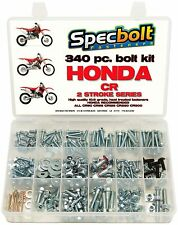 SPECBOLT 340pc Honda CR Bolt Kit 80 85 125 250 500 plastics engine body seat XL