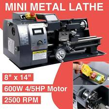 New listing 600W Digital 8�x14� Mini Metal Lathe Metalworking Woodworking Dc Motor New