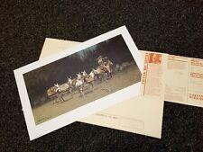 "McCarthy, Frank:   ALERT (Trader & Mule) SN Lithograph: 1982 Ed 1000 <30"" NIF"