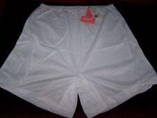 2 Sheer Acetate Flair leg Bloomer Brief Panties size 8 - 2X crotch - made in USA
