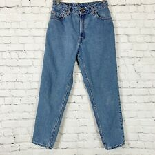 Levis Vintage Women's 10P 550 High Rise Tapered Mom Jean 100% Cotton Made in USA