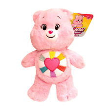 Care Bears Hopeful Heart Bear Unlock The Magic Plush Toy 20cm Pink