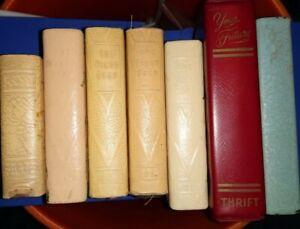 Savings Bank Books Lot Of 7
