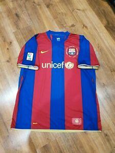 Barcelona football jersey home shirt 2007-2008 size XXL
