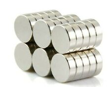 100pcs Neodymium Disc 10mm X 3mm Rare Earth N50 Strong Magnets Craft Models