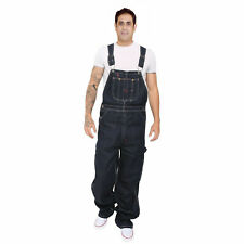 Men Pro Work Dungaree Denim Overalls Bib and Brace Decorators Workwears Trousers