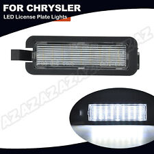 LED License Plate Light For Chrysler 300 15-20 Pacifica 17-20 Jeep Compass 17-20
