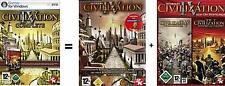 Civilization 4 complete + caudillos + Beyond the Sword guterzust.