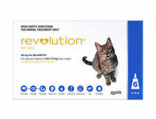 Revolution for Cats And Rabbits 2.6 to 7.5 Kg, 6 Pack - Blue