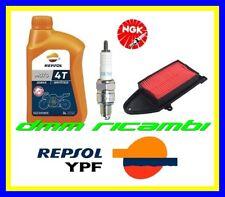 Kit Tagliando KYMCO PEOPLE 125 S ONE 07>08 Filtro aria Candela REPSOL 2007 2008