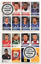 Panini WM 2010 Südafrika - Set 80 x Update Sticker original verpackt