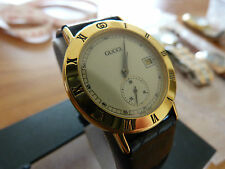 Gucci Adult Polished Round Wristwatches