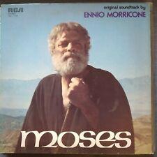 Lp OST Soundtrack - Ennio Morricone - Mosè - RCA TBL1 1106