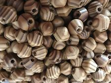 WOOD BEADS SPACERS CHARMS BICONE 16X15 MM LEAD FREE, HOLE ABOUT 5 MM