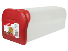 RUBBERMAID 1832489 BREAD LOAF KEEPER FOOD STORAGE CONTAINER NEW RED