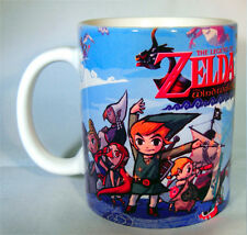 The Legend of Zelda The Wind Waker - Coffee MUG - Cup - Windwaker - Triforce HD