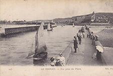 Carte Postale Ancienne  Le Tréport
