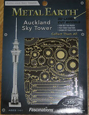 Auckland Sky Tower Metal Earth 3D Laser Cut Metal Model Fascinations MMS029