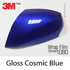 152x300cm LÁMINA Brillante Cósmico Azul 3M 1080 G377 Vinilo CUBIERTA Car Carcasa