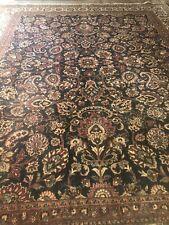 Vintage Oriental Rug Handknotted Allover Pattern