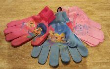 New set of 3 Girls Gloves Nickelodion Shimmer & Shine Osfm - A84