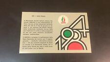 TESSERA MOVIMENTO SOCIALE ITALIANO-DESTRA NAZIONALE 1984 - PARMA
