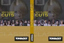 TONI&GUY NEW CLASSIC CUTS COLLECTION 4 DVDs SET