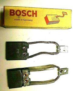 Original Bosch Kohlensatz für Lichtmaschine, Bukh DZ30, 1956-1959, Altbestand
