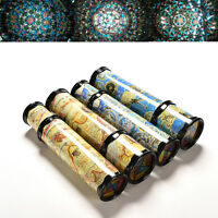 1 X Traditional Rotatable Kaleidoscope Education Learning Puzzle Toy Kids FT