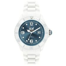 Ice-Watch Unisex Sili Blue Dial White Band SI.WJ.U.S.10