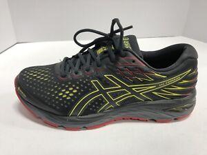 ASICS Gel Cumulus 21 G-TX Grey/Black/Red Athletic Running Shoes Men's Size 9M