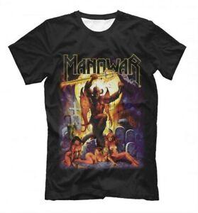 Manowar Power Metal T-Shirt, Men's Women's All Sizes