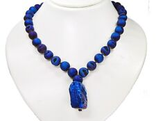 Beautiful Necklace from Precious Stones Agate Druzy In Ball Shape with Pendant