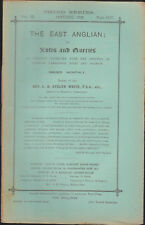 The East Anglian or Notes & Queries Rv Evelyn White Vol IX Jan-Dec 1902 12 iss