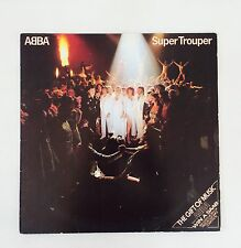 "Abba Original 1980 Super Trouper 12"" Vinyl LP In Ex Condition"