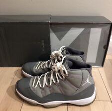 Nike Air Jordan XI Retro Sz 11 Cool Grey 378037-001 100% Authentic Rare