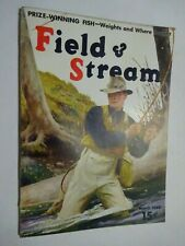 1940 FIELD & STREAM MAGAZINE March Fly Fishing