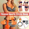 Smart Hula Hoop Lose Weight Ab Exerciser Fitness Sports Circle Detachable Hoop L